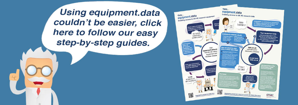 Using equipment.data couldn't be easier, click here to follow our easy step-by-step guide.